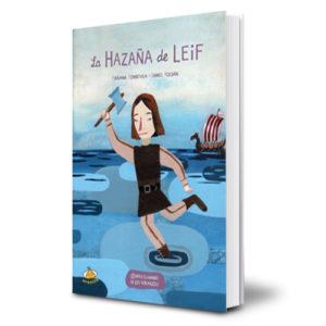 Libro La hazaña de Leif - Fabiana Fondevila