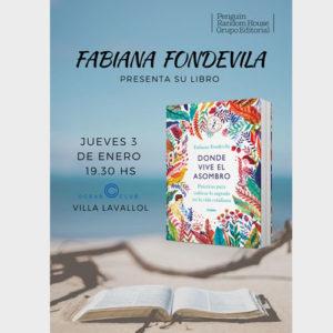 Presentación de libro Donde vive el Asombro. Mar del Plata - Fabiana Fondevila